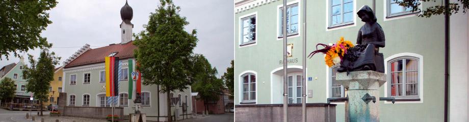 Rathaus Markt Pfeffenhausen